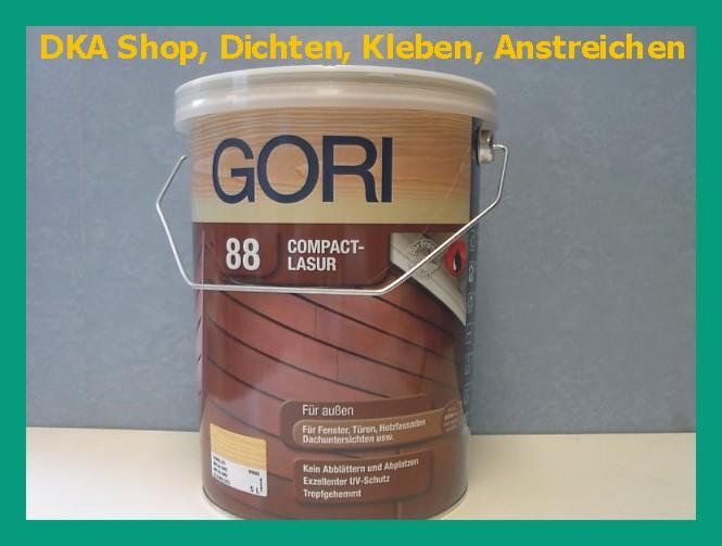gori 88 compact lasur gel 5 l 15 50 l farbe w hlbar holzschutzlasur ebay. Black Bedroom Furniture Sets. Home Design Ideas