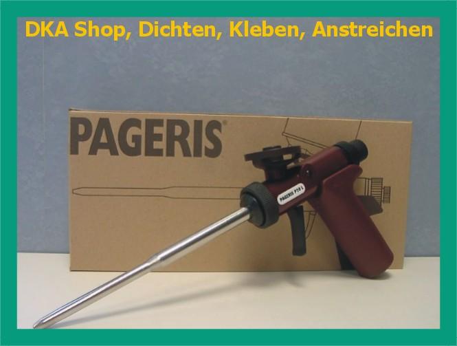 pistolenschaum montagepistole schaumpistole pageris p20 ebay. Black Bedroom Furniture Sets. Home Design Ideas