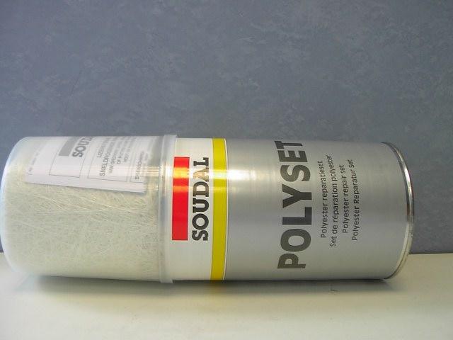 Soudal polyset polyester reparaturset fiberglass 2k - Fiberglas eigenschaften ...