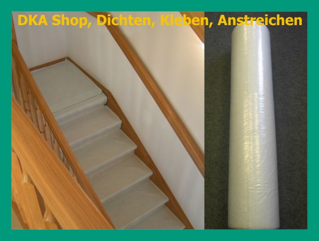 malerabdeckvlies 50x1m 1 56 m selbstklebend schutzvlies treppenschutzvlies ebay. Black Bedroom Furniture Sets. Home Design Ideas
